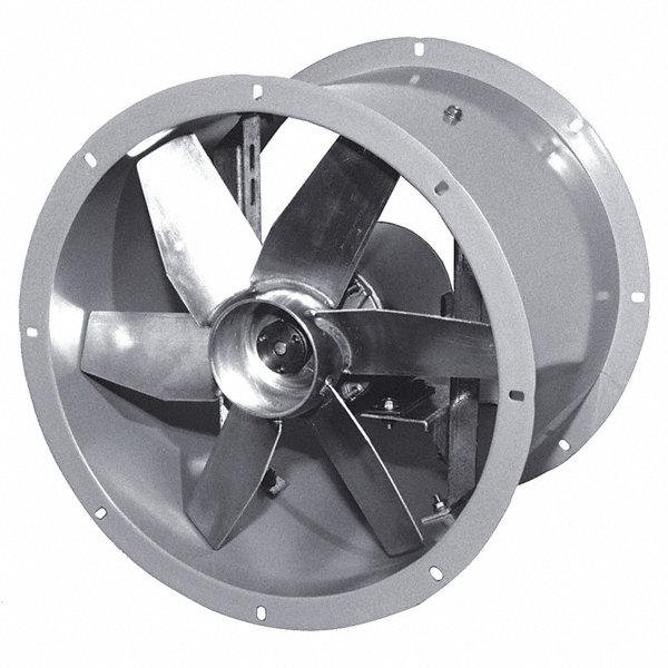 Small Tube Axial Fan : Dayton quot tubeaxial fan motor hp voltage