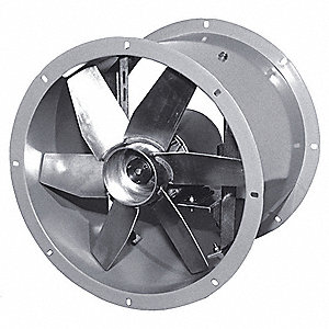 "18"" Tubeaxial Fan, Motor HP 1/2, Voltage 115, 1 Phase"