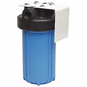 "1"" NPT Polypropylene Water Filter System, 2.0 gpm, 125 psi"