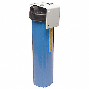 "1"" NPT Polypropylene Water Filter System, 3.0 gpm, 125 psi"