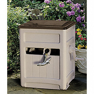 Hose Hideaway,Resin,15 In. Dia.