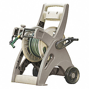 Portable Hose Cart,Resin,15 In. Dia.