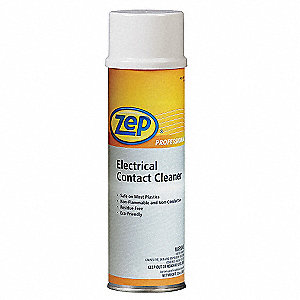 15 oz. Aerosol Can Electrical Contact Cleaner with Less Than 30 Sec Dry Time, Clear