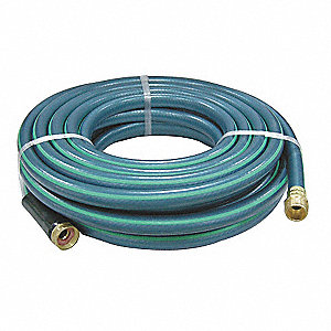 Water Hose,Single Rnfrcd PVC,5/8 In ID