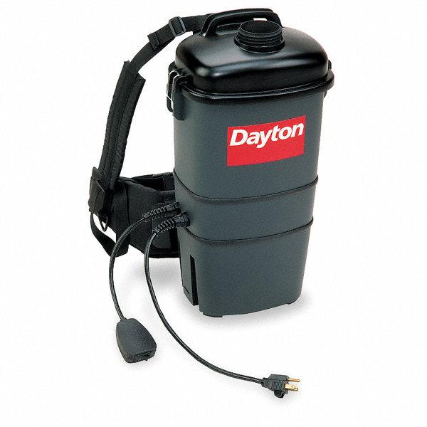 Dayton 1 3 4 Gal Backpack Vacuum 75 Cfm 10 Amps