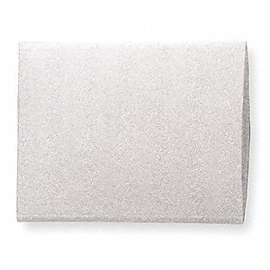 Foam Bag,White,10-1/2 In.W,16 In.L,PK150