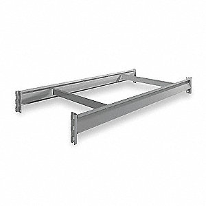 "48"" x 24"" Additional Shelf Level, Gray"