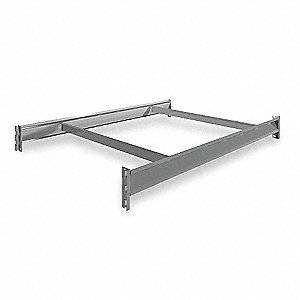 "48"" x 36"" Additional Shelf Level, Gray"