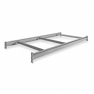 "72"" x 36"" Additional Shelf Level, Gray"