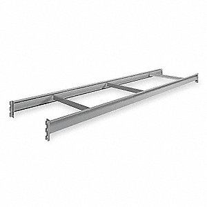 "96"" x 24"" Additional Shelf Level, Gray"