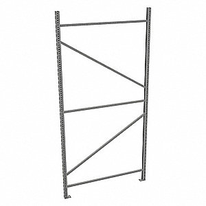 "Upright Frame,48"" D,1-3/4"" W,96"" H"