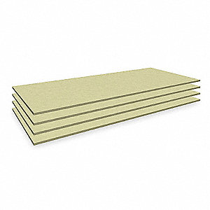 "69"" x 30"" Particle Board Decking, Gray"