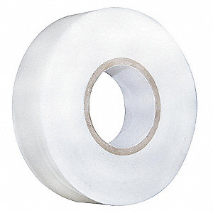 "White Flame Retardant Polyvinyl Chloride Electrical Tape, 3/4"" Width, 60 ft. Length, 7 mil Thickness"