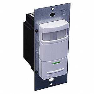 Vacancy Sensor, Sensor Type: Passive Infrared, Installation Type: Wall, 900 sq. ft. Coverage
