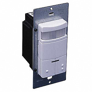 Occupancy Sensor, Sensor Type: Passive Infrared, Installation Type: Wall, 2100 sq. ft. Coverage