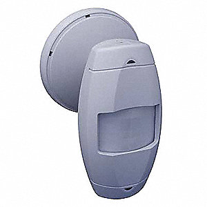 Occupancy Sensor, Sensor Type: Passive Infrared, Installation Type: Wall, 385 sq. ft. Coverage