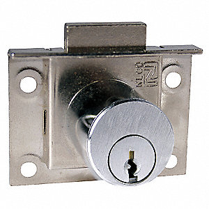 Stain Chrome Deadbolt Latch Drawer Lock