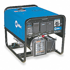 Engine Driven Welder, Blue Star 185DX Series, Kohler CS10