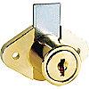 DISC TUMBLER CAM LOCK,BRASS,KEY 413