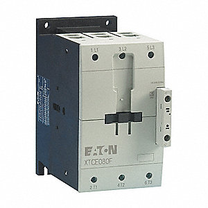 24VAC IEC Magnetic Contactor&#x3b; No. of Poles 3, Reversing: No, 80 Full Load Amps-Inductive