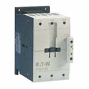 IEC Magnetic Contactor, 480VAC Coil Volts, 170 Full Load Amps-Inductive