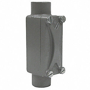 Conduit Outlet Body,Aluminum,C