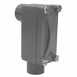 Conduit Outlet Body,Aluminum,LB