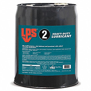 Heavy-Duty Lubricant, -50°F to 350 Degrees F, No Additives, 55 gal. Drum