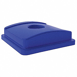 RECYCLING TOP,BLUE,20 1/8 IN L