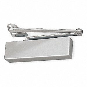 Manual Hydraulic Norton 7500-Series Door Closer, Heavy Duty Interior and Exterior, Aluminum