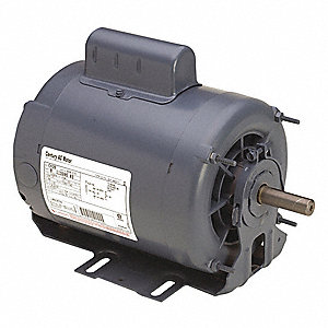 3/4, 1/4 HP Belt Drive Motor, Capacitor-Start, 1725/1140 Nameplate RPM, 208-230 Voltage, Frame 56