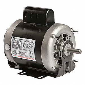 3/4 HP Belt Drive Motor, Capacitor-Start, 1725 Nameplate RPM, 115/208-230 Voltage, Frame 56