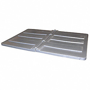 Tilt Truck Lid,Gray,Fits 59-2/5 cu. ft.