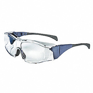 Ambient  OTG Scratch-Resistant Safety Glasses, Clear Lens Color