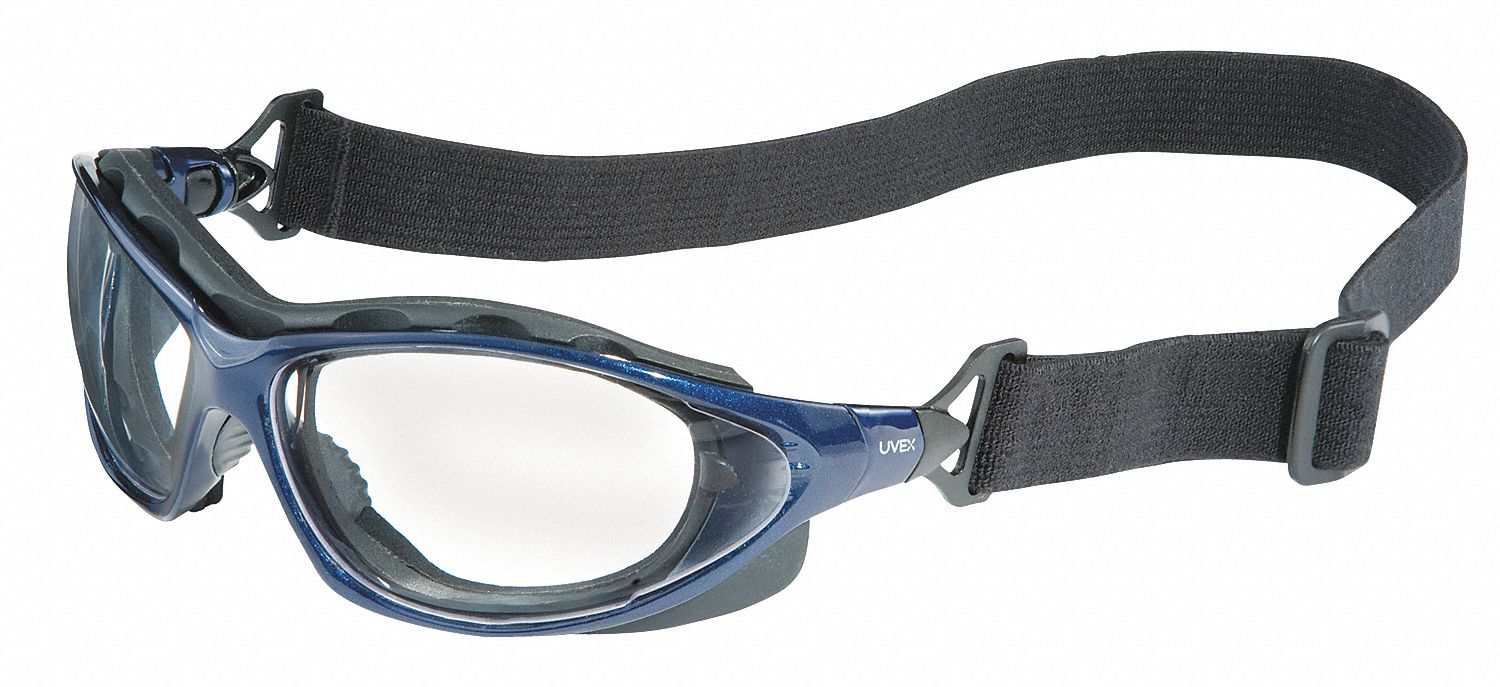 Eyeglass Frame Inventory Management : HONEYWELL UVEX Anti-Fog Protective Goggles, Clear Lens ...