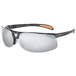 Protege® Scratch-Resistant Safety Glasses, Silver Mirror Lens Color