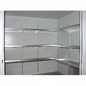 Hazmat Storage Building Shelf, For Use With 4UDF9 and 4UDF1
