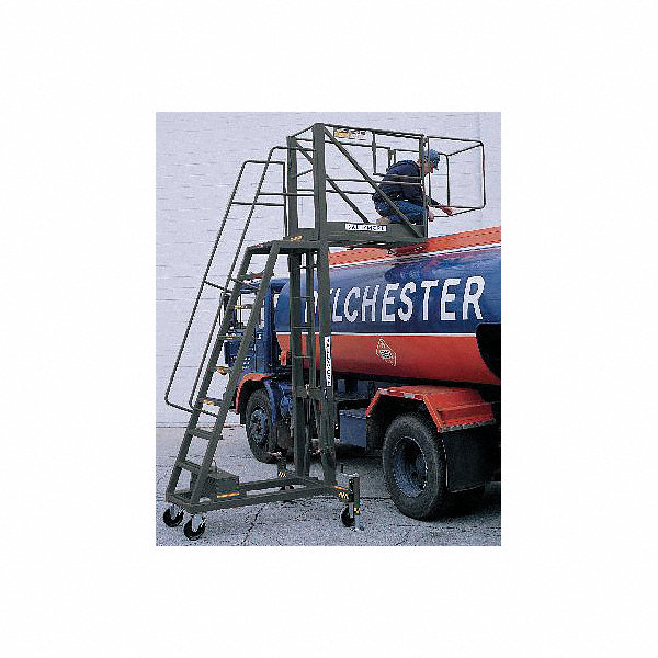 Ballymore Unsupported 9 Step Cantilever Rolling Ladder