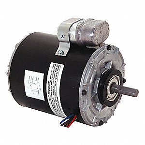 1/12 HP Unit Heater Motor,Permanent Split Capacitor,1550 Nameplate RPM,115 Voltage, Frame 42Y