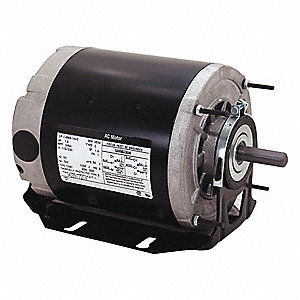 1/6 HP Belt Drive Motor, Split-Phase, 1725 Nameplate RPM, 115 Voltage, Frame 48Z