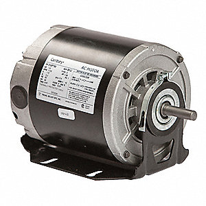 1/4 HP Belt Drive Motor, Split-Phase, 1725 Nameplate RPM, 115 Voltage, Frame 48