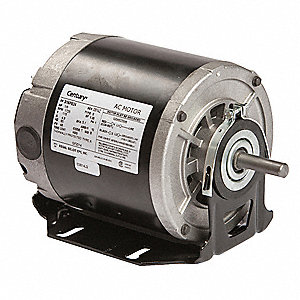 Motor,Split Ph,1/6 HP,1725,115V,48,Open