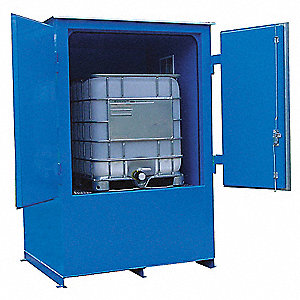 Storage Locker,Fire Rated,1 Tote, Steel