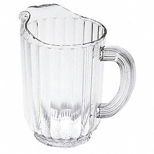Beverage Pitcher,48 Oz,Clear