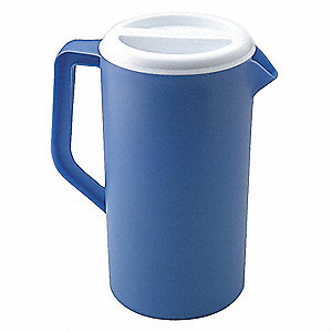 Beverage Pitcher,4 Qt, Blue