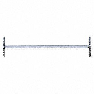 Adjustable Bin Holder,W 60,Galvanized