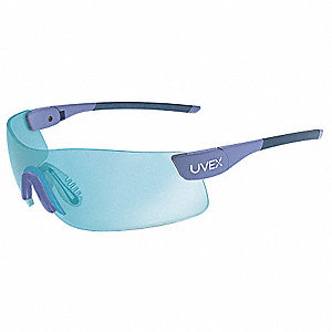 PrecisionPro  Anti-Fog Safety Glasses, SCT-Blue Lens Color