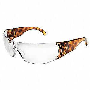 W300 Scratch-Resistant Safety Glasses, Clear Lens Color