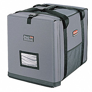 Insulated Carrier,21 1/2x 27 x 29, Gray