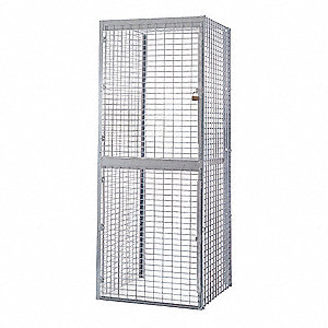 Starter Bulk Storage Locker,2 Tier